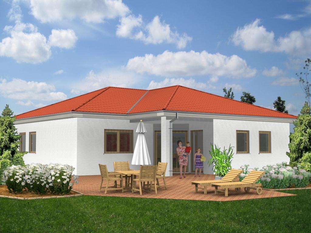 Massivhaus des Monats März 2021 ab 212.235,00 Euro. Förderfähig durch die KFW-Bank. Flachdachhaus SI-Ambiente 139 Lassen Sie sich inspirieren